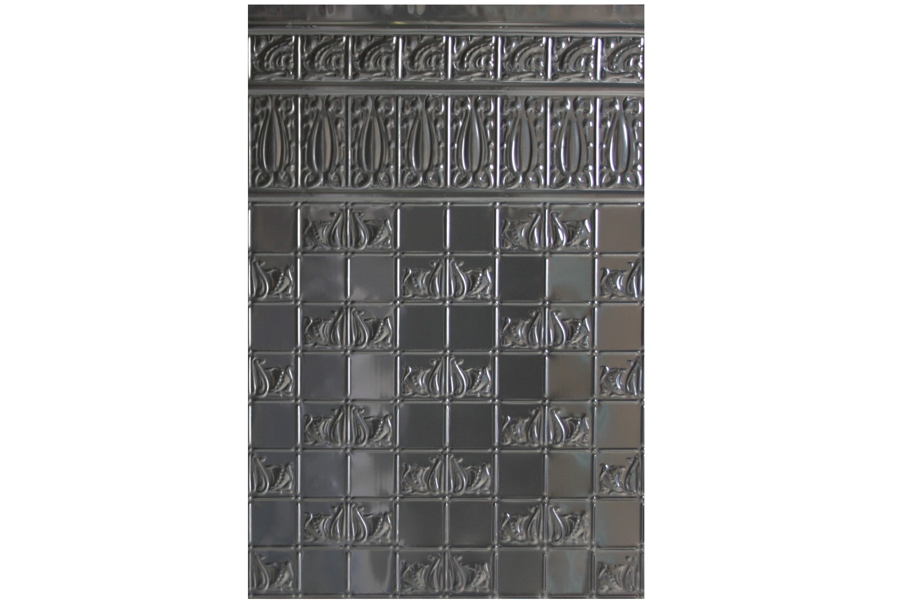Wunderlich Pressed Metal Panels No 1349 Wall Panel