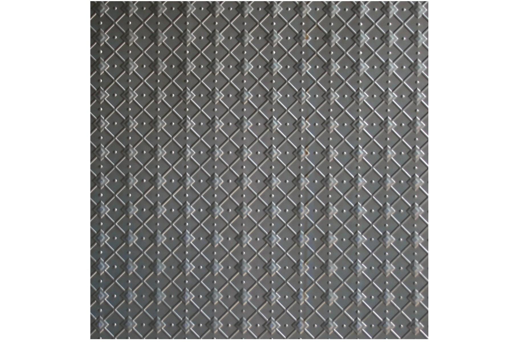 Wunderlich Pressed Metal Panels No 1389 Geometric