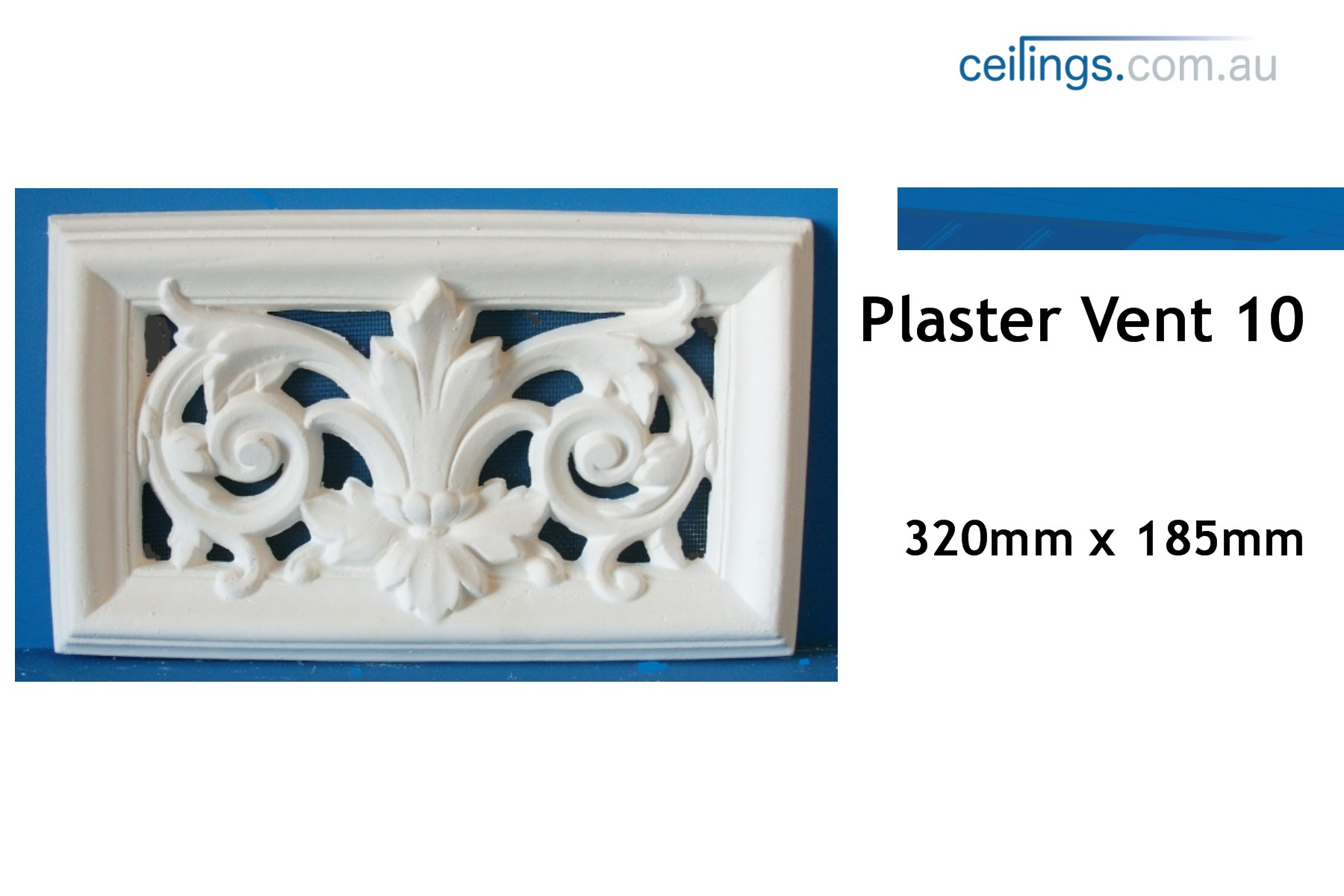 Wall Plaster Products : Plaster vent