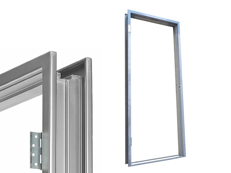Steel Split Double Doorframe 70mm-85mm