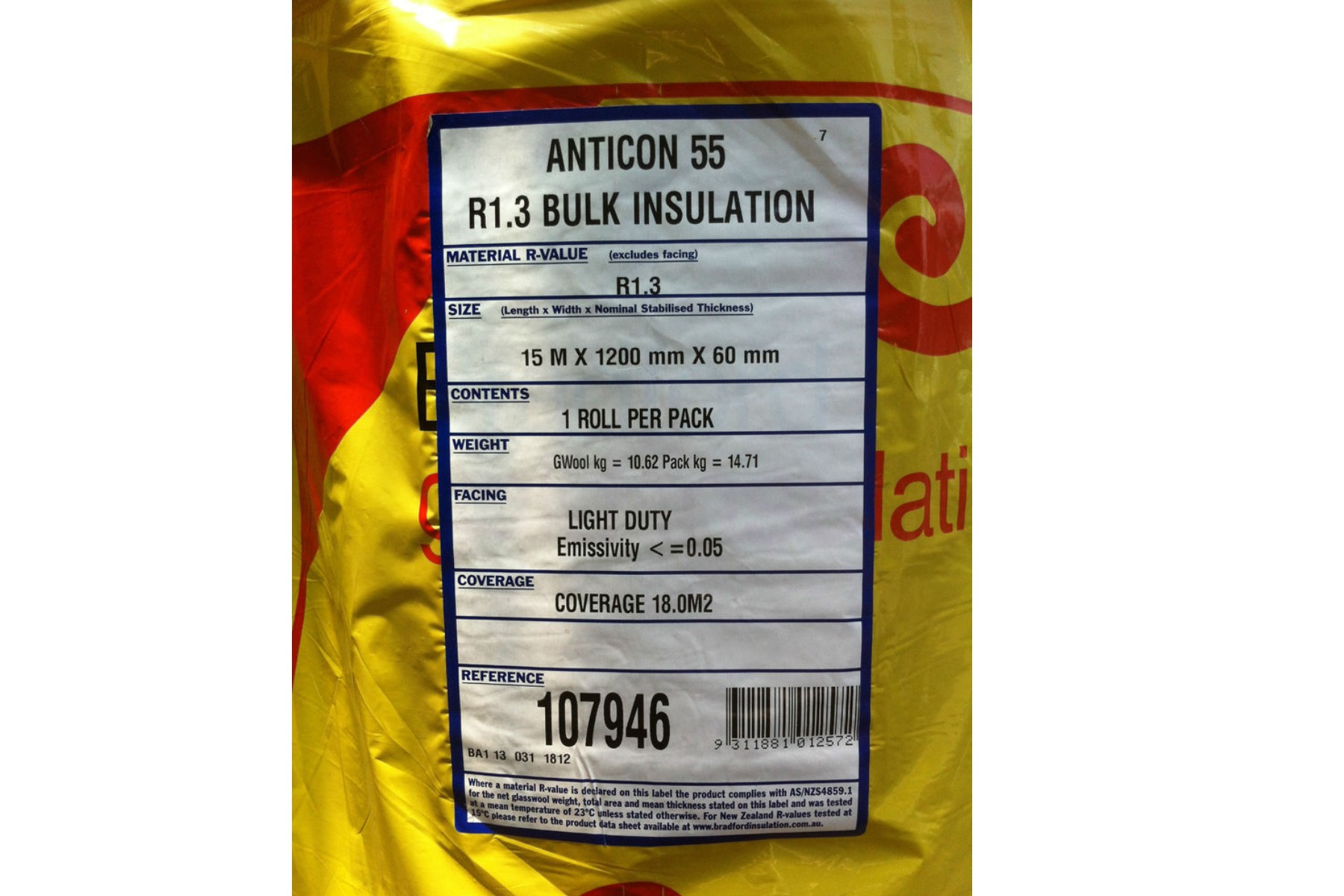 35 Anticon Blanket 11kg M 179 With Md Foil Mmcom Pty Ltd