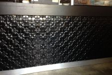 Original Black Powdercoat Counter Front