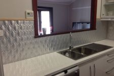 Fishscale Kitchen Splashback