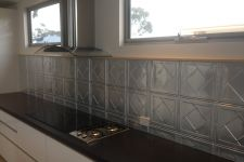 Art Deco Kitchen Splashback